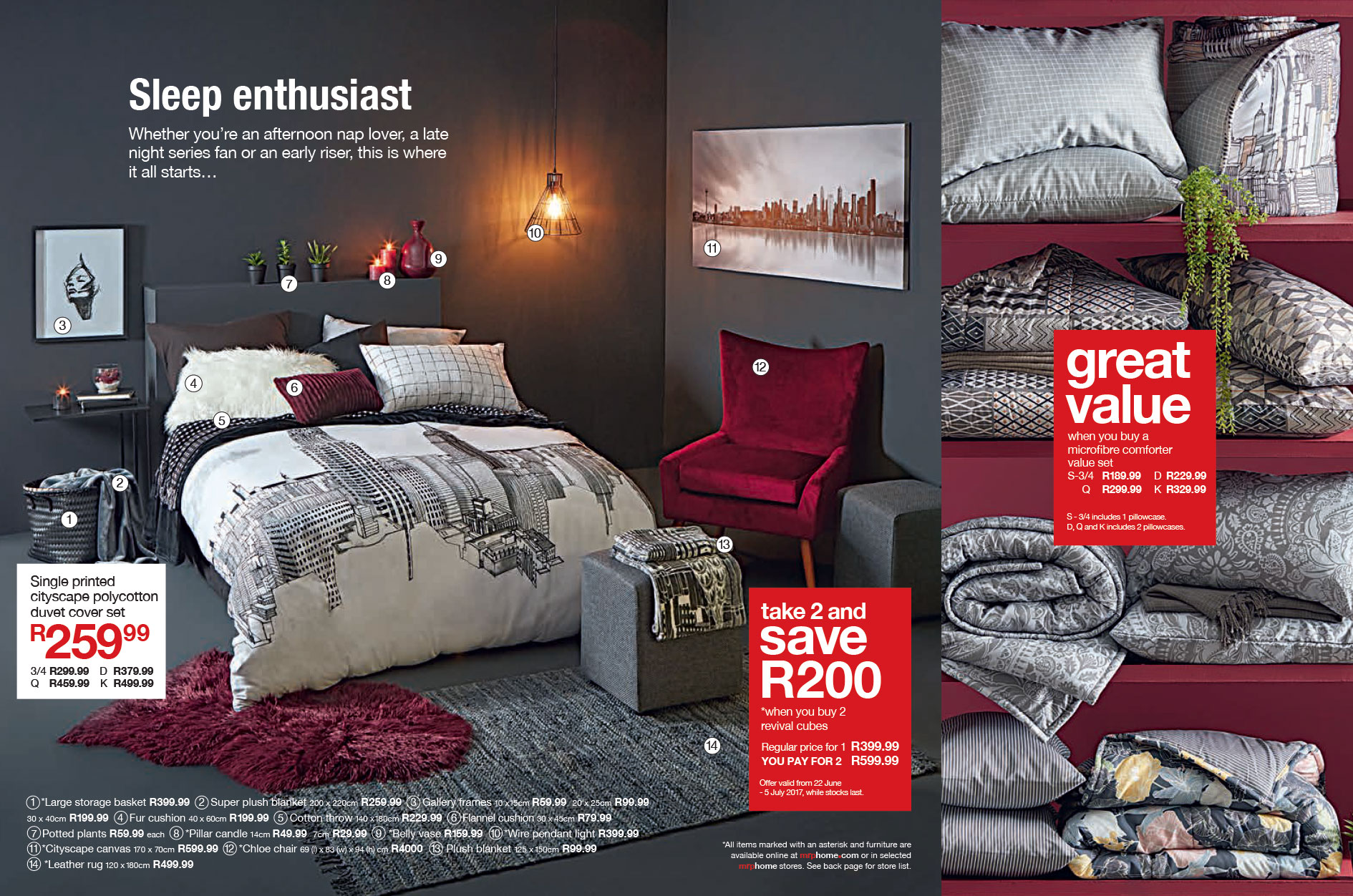 Mr mr mr mr price home catalogue 2014 - Bedroom Furniture Catalogue 2017 Mrp Home Winter Catalogue 2017