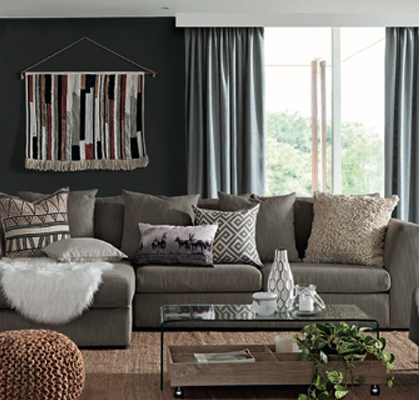 Mr Price Home Shows How You Can Use Texture To Create The Earth Lodge