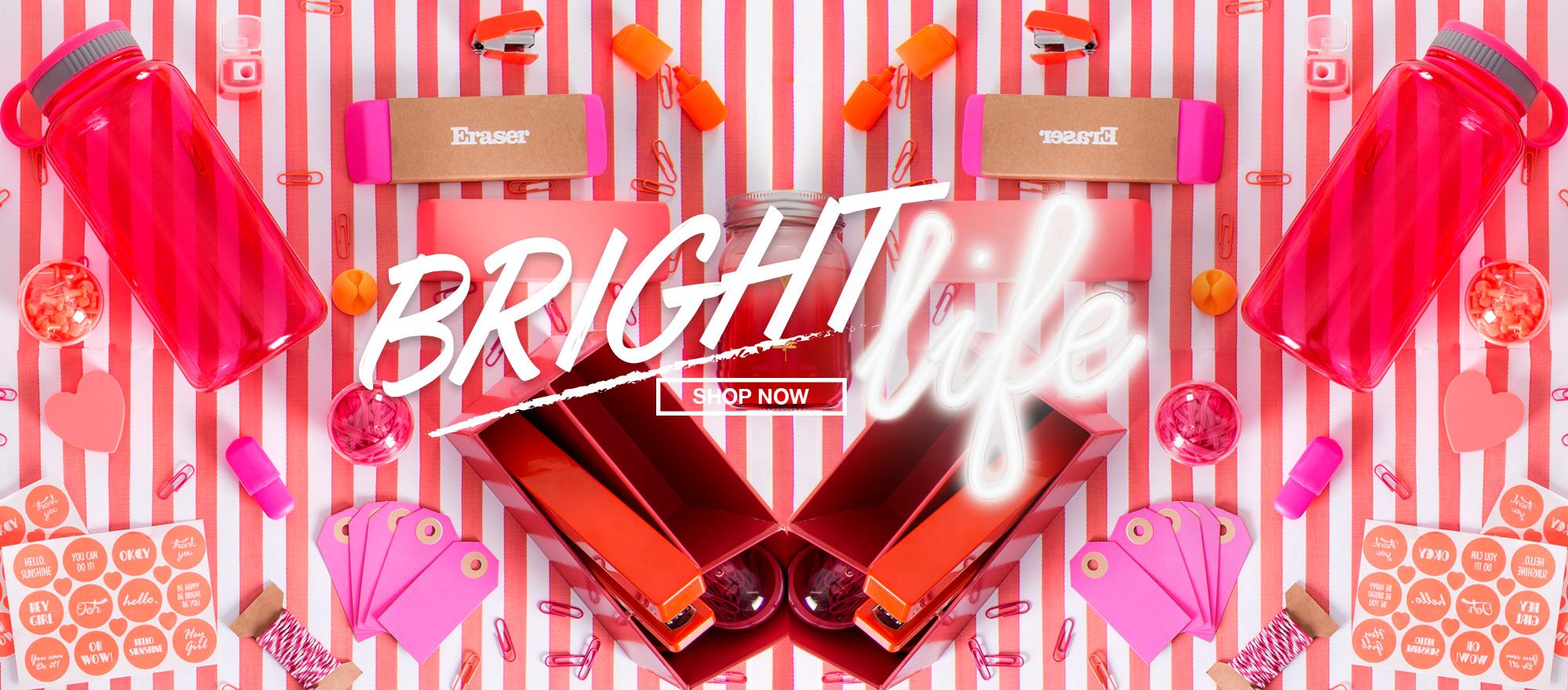 bright life pink