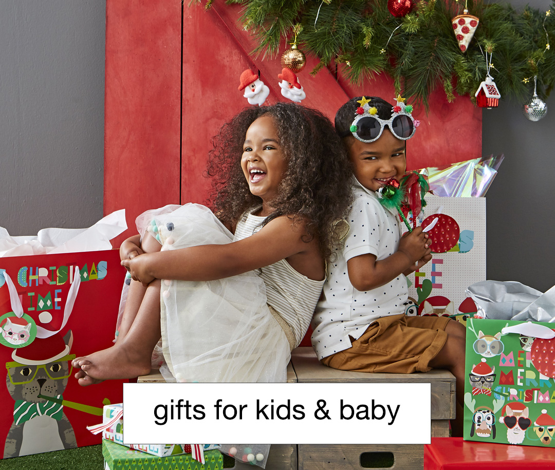 Christmas gifts for kids and babies